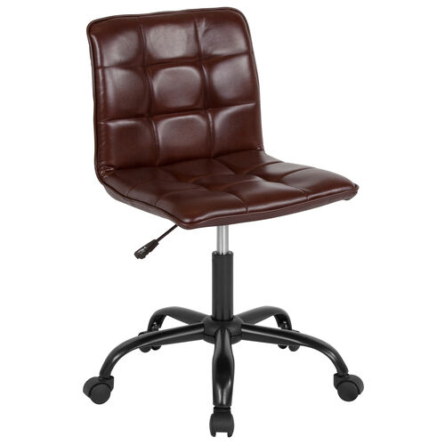 Our Sorrento Home and Office Task Chair in Brown LeatherSoft is on sale now.