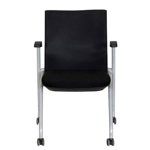 Our Ace Multi Purpose Nesting Chair with Padded Back - Black is on sale now.