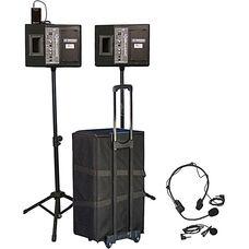 Wireless Powered Speaker 50 Watt Voice Projector Kit - 30
