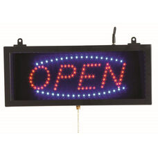 High Visibility LED OPEN Sign - 6.75