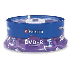 Verbatim 4.7Gb Azo Dvd+R - Pack Of 25