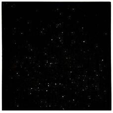Natural Granite Square Outdoor Black Galaxy Tabletop - 36