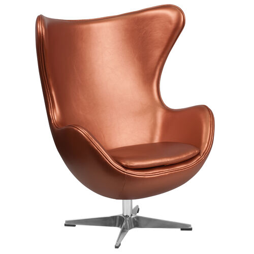 Our Copper LeatherSoft Egg Chair with Tilt-Lock Mechanism is on sale now.