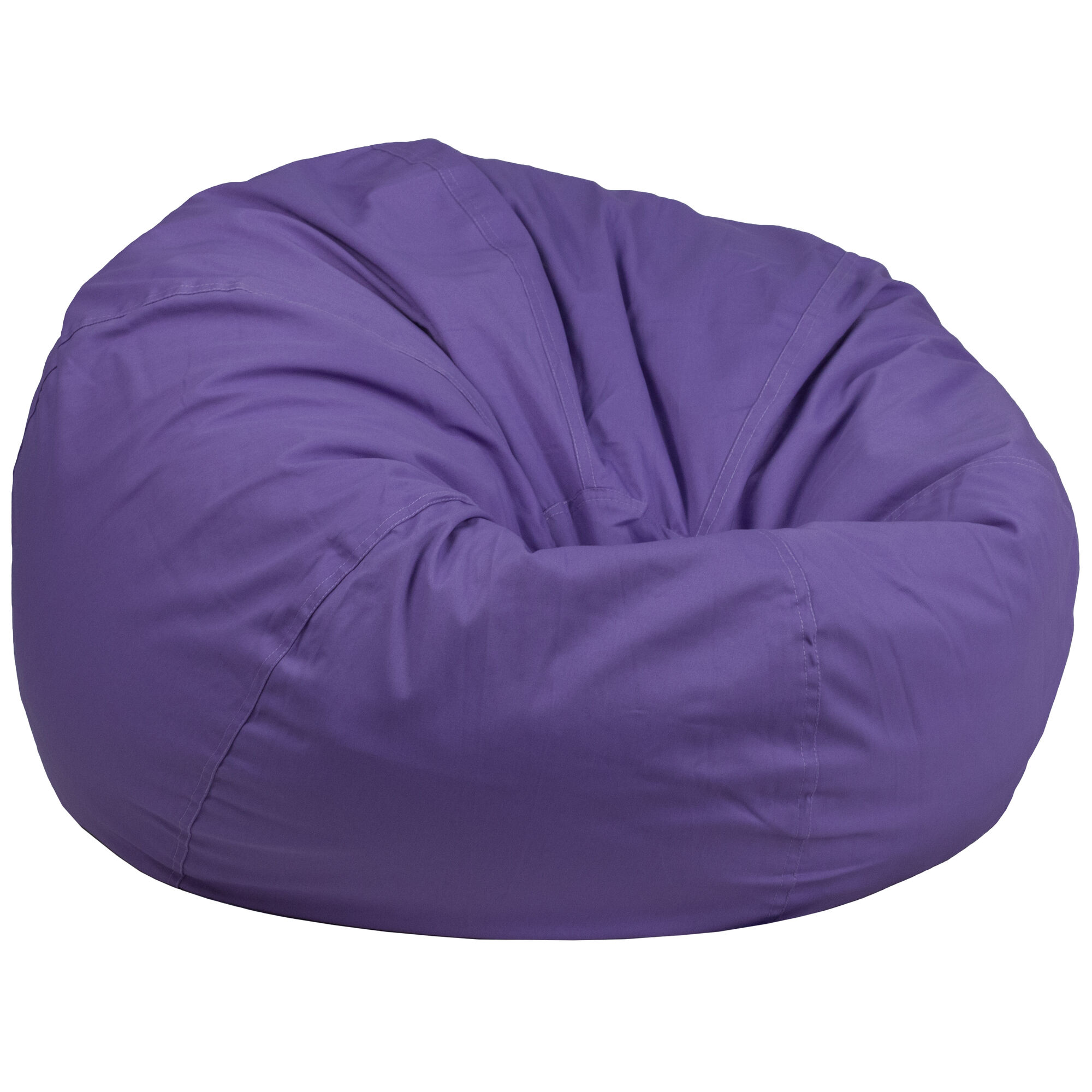 Superb Oversized Solid Purple Bean Bag Chair For Kids And Adults Dailytribune Chair Design For Home Dailytribuneorg
