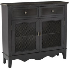 Inspired by Bassett Lambert Storage Console - Antique Black