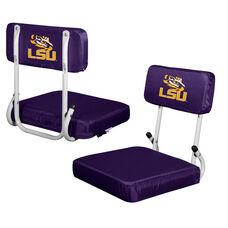 Louisiana State University Team Logo Hard Back Stadium Seat