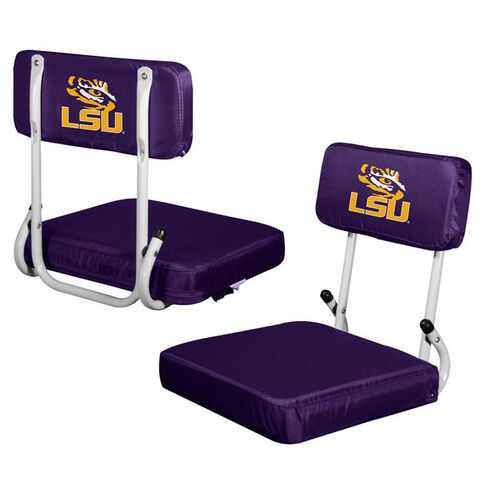 Our Louisiana State University Team Logo Hard Back Stadium Seat is on sale now.