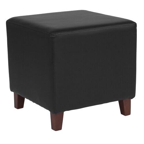Ascalon Taut Upholstered Cube Ottoman Pouf