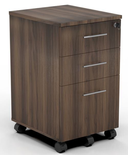 Our Medina Mobile Two Box Drawers and One File Drawer Pedestal with 2