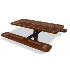 Rectangular Single Pedestal Table