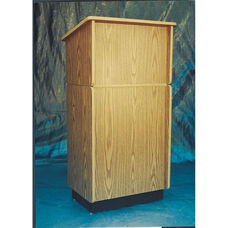 323 Series Wooden Convertible Lectern - Oak Laminate - 24