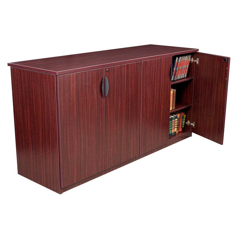 Beau ... Our Legacy 72u0027u0027W X 24u0027u0027D Wooden Lockable Storage Cabinet Buffet