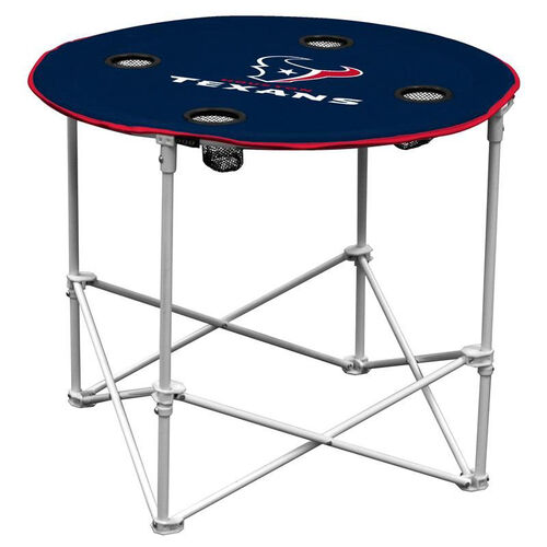 Our Houston Texans Team Logo Round Folding Table is on sale now.
