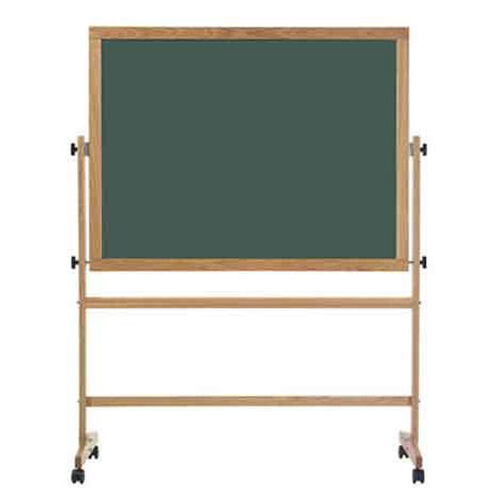 Our Double-Sided Composition Chalkboard with Wood Trim - 42