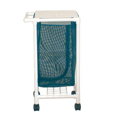 Space Saving Single Hamper with Mesh Bag and Casters - 18.5