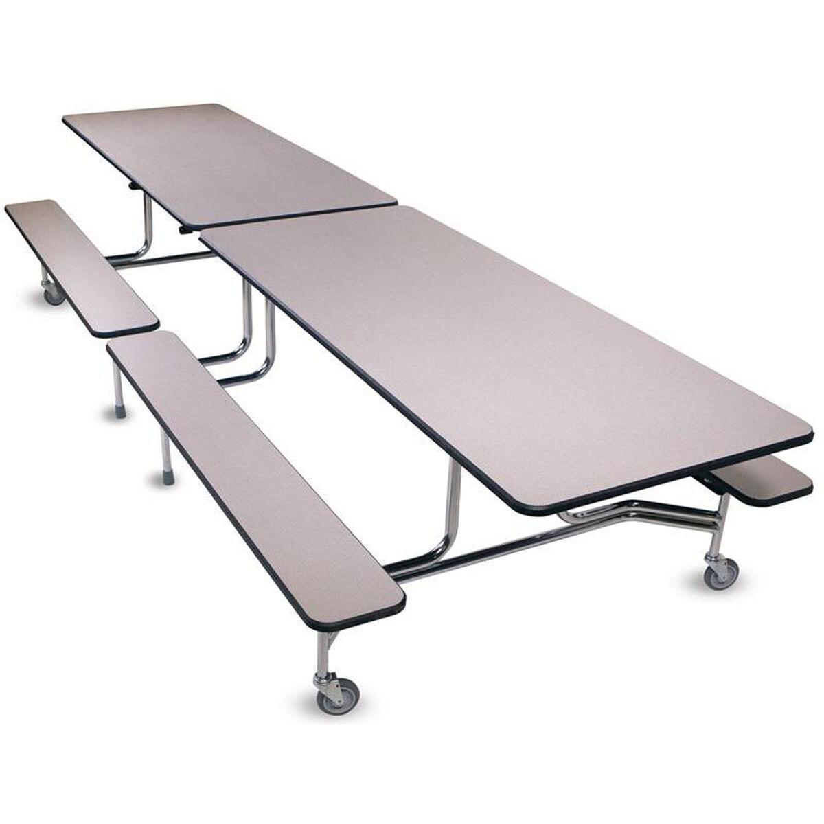 folding rectangle cafeteria table 12fb27 bizchair com