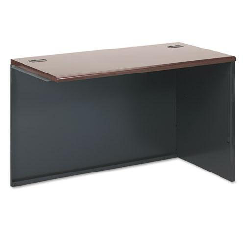Our HON® 38000 Series Return Shell - Right - 48w x 24d x 29-1/2h - Mahogany/Charcoal is on sale now.