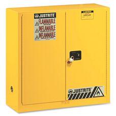 Justrite 2-Door Flammable Liquids Cabinet