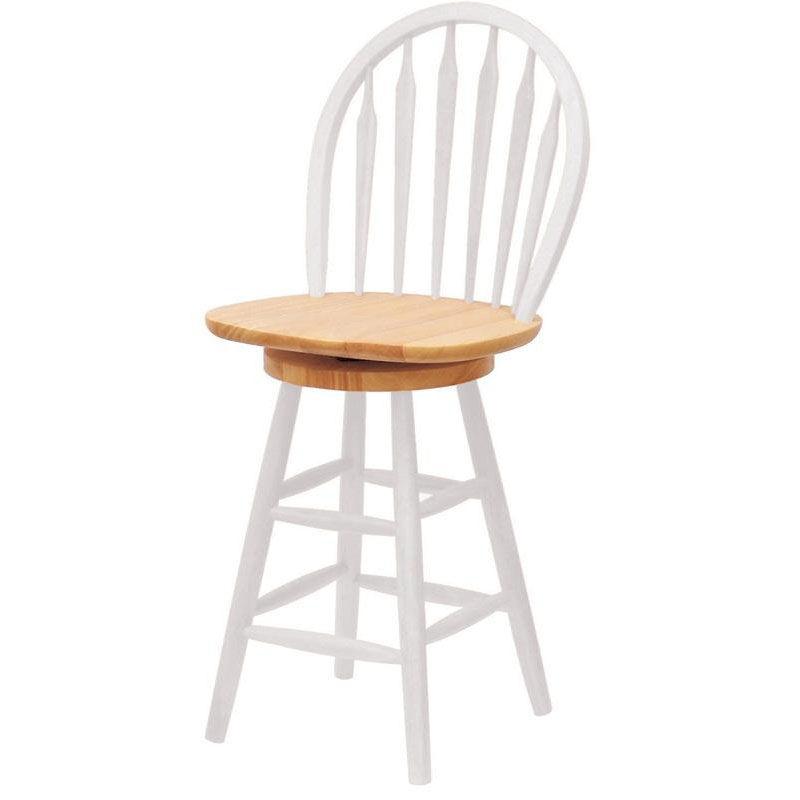 ... Our 24u0027u0027H Arrow Back Windsor Stool With Swivel Seat Is On Sale