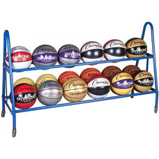 18 Count Powdercoated Basketball Cart