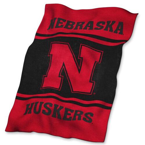 University of Nebraska Team Logo Ultra Soft Blanket