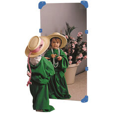 24''W x 48''L Shatter Resistant Acrylic Mirror