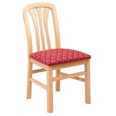 691 Desk Chair w/ Upholstered Seat - Grade 1