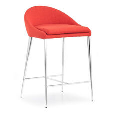 Reykjavik Counter Chair in Tangerine
