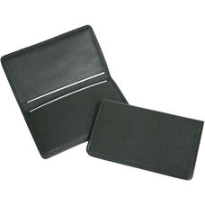 Business Card Case - Top Grain Nappa Leather - Green