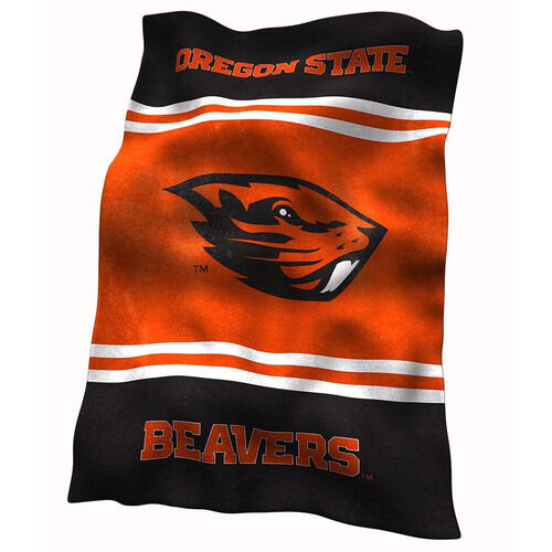 Our Oregon State University Team Logo Ultra Soft Blanket is on sale now.