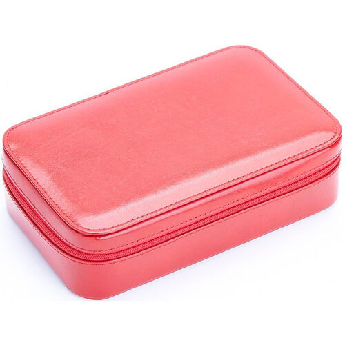 Our Jewelry Case - Aristo Bonded Leather - Red is on sale now.