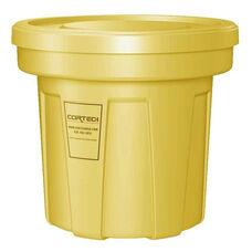 22 Gallon Cobra Food Grade/General Use Trash Can - Yellow