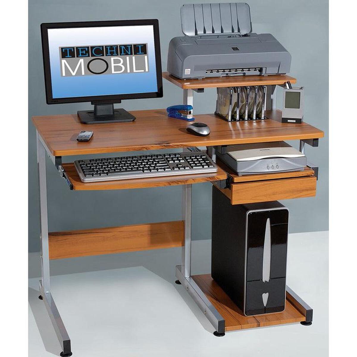 Rta Products Techni Mobili Multifunction Computer Desk