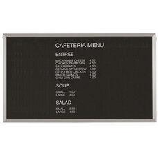 Framed Letter Board Message Center with Aluminum Frame - 36