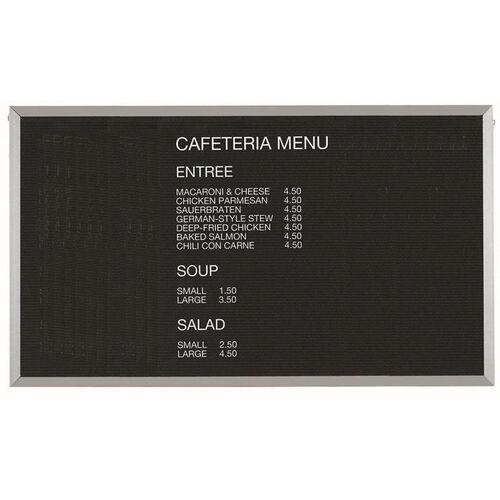 Our Framed Letter Board Message Center with Aluminum Frame - 36