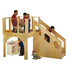 Tots Loft Playhouse