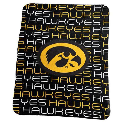 Our University of Iowa Team Logo Classic Fleece Throw is on sale now.