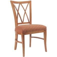 4622 Side Chair with Upholstered Webb Seat - Grade 1
