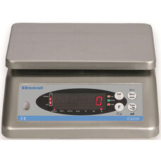 Washdown Check Weigher with Stainless Steel Platform and Rechargeable Battery
