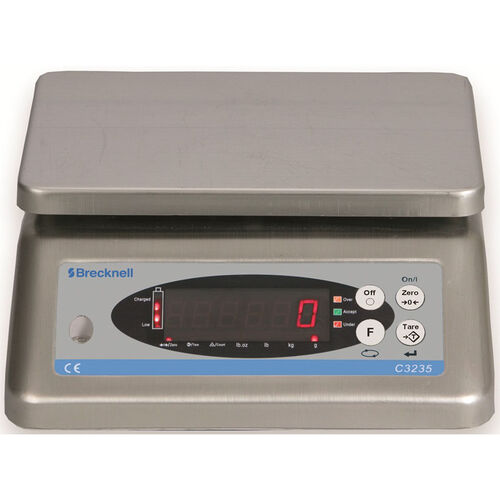 Our Washdown Check Weigher with Stainless Steel Platform and Rechargeable Battery is on sale now.
