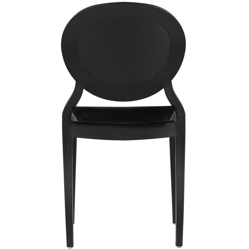 Our Emma Resin Polypropylene Stackable Event Chair   Black Is On Sale Now.