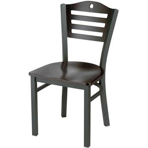 Americana Woods Circle and Slat Back Chair