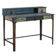 Calypso Desk - Blue and Green