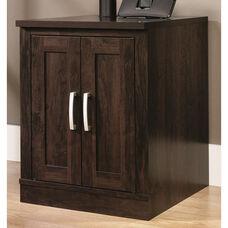 Office Port 29.25''H Library Base with Adjustable Shelves - Dark Adler