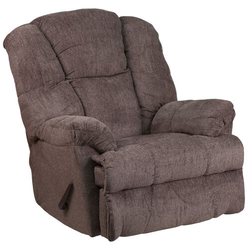 Our Contemporary Hillel Pewter Chenille Rocker Recliner is on sale now.