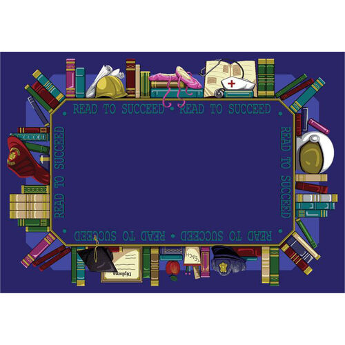 Our Read to Succeed Rug is on sale now.