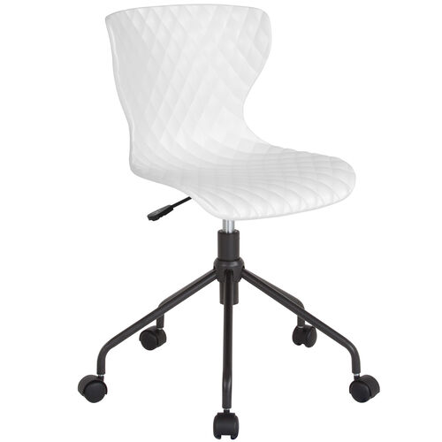 Our Brockton Contemporary Design White Plastic Task Office Chair is on sale now.