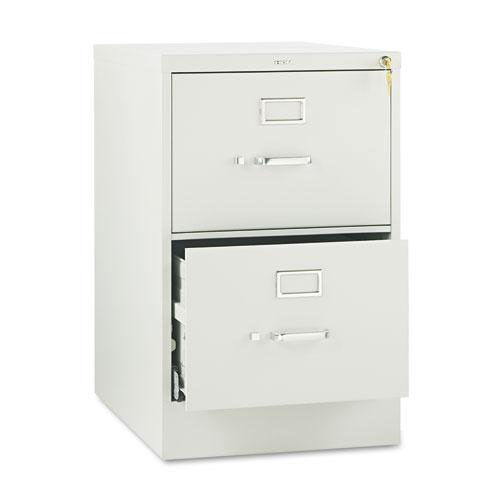 Our HON® 510 Series Two-Drawer - Full-Suspension File - Legal - 29h x25d - Light Gray is on sale now.