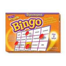 Trend Enterprises Synonyms Bingo Game - 3 -36 Players - 36 Cards/Mats