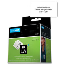 Dymo Labelwriter Adhesive Name Badges - Pack Of 250